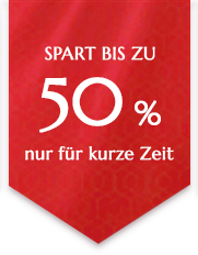 SAVE UP TO -50%